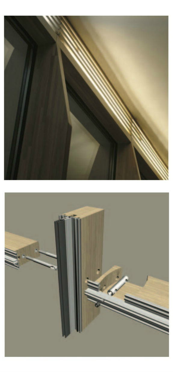 Timber Curtain Window Walls