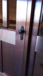 Copper Clad Entry - Mullion Detail