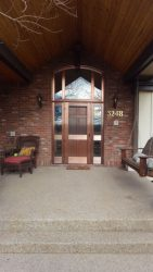 Copper clad entry door unit