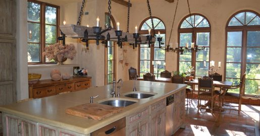Copper Clad windows and doors - Dillon Residence - Kitchen & Breakfast Area