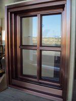 Copper Entry Door