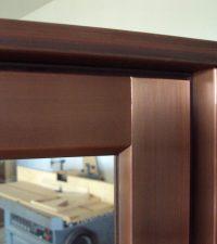 Copper Clad Exterior Drip Cap Detail