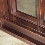 Copper Clad Interiors Sill Detail