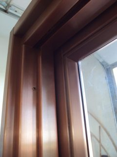 Copper Clad Interiors - Jamb Head Detail