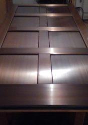 Bronze Clad 8 Panel Entry Door